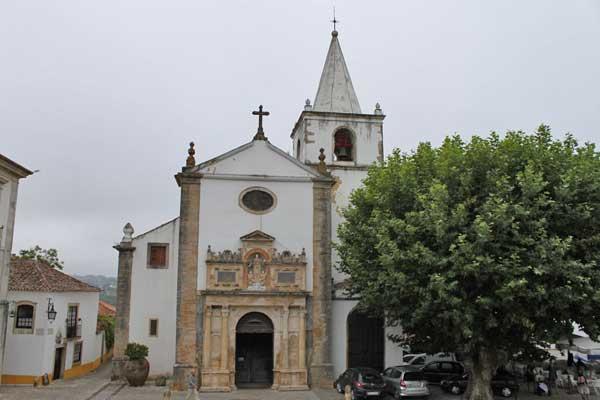 Church of Santa Maria in Óbidos
