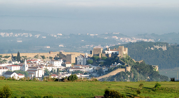 Óbidos - view of the walled town